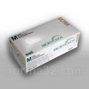 Перчатки Micro-Touch Ultra латексные неопудренные текстурированные 100 шт
