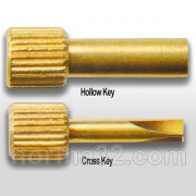 Ключ для анкерных штифтов латунный (накидной/отвёртка)