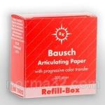Бумага артикуляционная BK 02 красная (200 мк) листов 300 шт, Bausch (Германия)