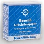 Бумага артикуляционная BK 01 синяя (200 мк) листов 300 шт, Bausch (Германия)