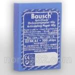 Бумага артикуляционная BK 61 синяя (40 мк) листов 200 шт, Bausch (Германия)