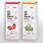 MI PASTE Pluse / Ми Паста Плюс - крем для реминерализации с фтором, 1 тюбик 35 мл (Вкусы: Клубника, Тутти), GC