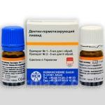Дентин герметизирующий ликвид HUMANCHEMIE 5+5 мл