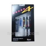 Herculite XRV Point 4 Mini Kit / Геркулайт ПОИНТ- 4 Мини - набор - 3 шпр х 3 г + Optibond Solo Plus 3 мл, Kerr