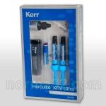 Herculite Ultra Mini Kit / Геркулайт Ультра Мини - набор - 3 шпр x 4 г + OptiBond Solo Plus 3 мл, Kerr