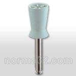 Чашка полировочная резиновая с прорезями №0720 - белая, 1 шт Китай
