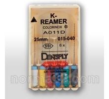 K-Reamer / К-Ример - длина 25 мм, упаковка 6шт, Dentsply Maillefer
