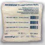 Валики стоматологические ватные, роллы №2 - упаковка 1000шт, Medicom