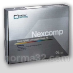 Nexcomp Kit / Некскомп - набор 7 шпр х 4 г + Прайм бонд 5 мл + аксессуары, Meta Biomed (Корея)