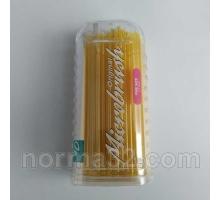 Аппликаторы стоматологические regular, super fine, fine  - овальные, упаковка 100шт, Microbrush