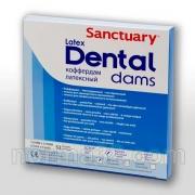 Платки для коффердама Dental Dam 36 шт
