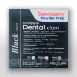Платки для коффердама Dentall Dams - Medium (Цвет: черные) упаковка 36шт, Sanctuary