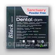 Платки для коффердама Dentall Dams Medium (черные) 36 шт