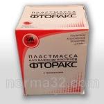 Пластмасса Фторакс с прожилками - полные и частичные протезы 300 г + 150 мл, Стома