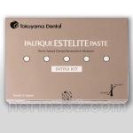 Palfique Estelite Paste / Палфик Эстелайт Пейст - набор 6 шпр х 3.8 г + Bond Force - 1 мл, Tokuyama Dental
